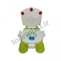توالت فرنگی پلاستیکی کودک مدل سه کاره