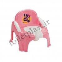 توالت فرنگی پلاستیکی کودک مدل صندلی
